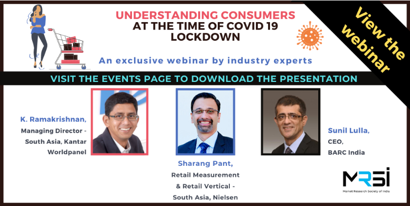 View Presentation Understanding Consumers at the time of COVID 19